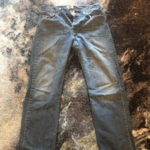 Levi's 501 jeans in size 32x34